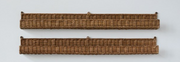Woven Rattan Wall Ledge, Two Sizes