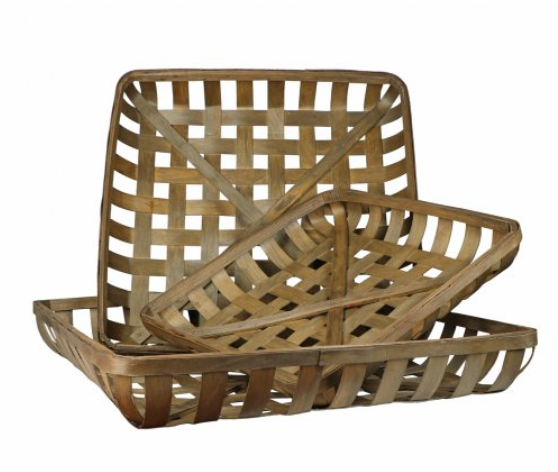 Tobacco Basket Set of 3