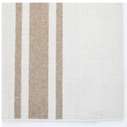 Ivory and Natural Flat Weave Rug - Three Sizes