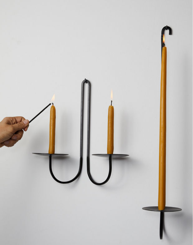 Single Arm Candle Holder