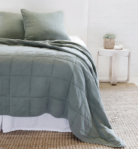 Antwerp Moss Coverlet