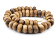 Light Brown Bone Beads
