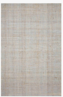 Textured Jute Rug, Light Blue