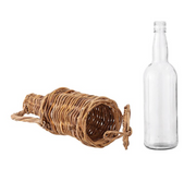 Picnic Pitcher, Rattan