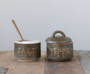 Sienna Salt & Pepper Pots