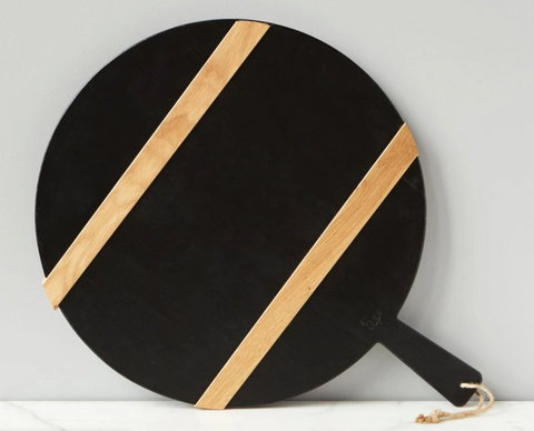 Round Mod Cheese Board, Black