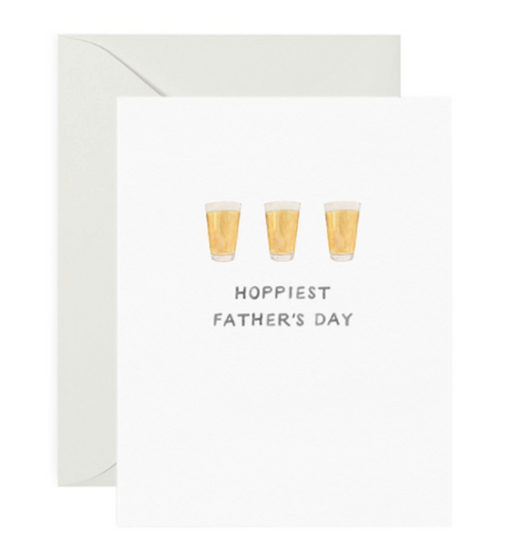 Hoppiest Dad Father's Day Card