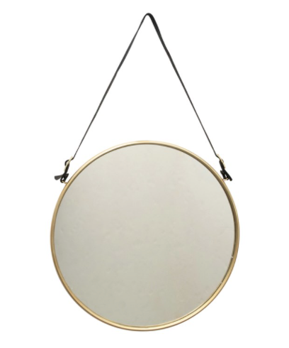 Olive Hanging Mirror
