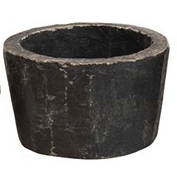 Hand-Carved Found Granite Bowl, 3 Sizes