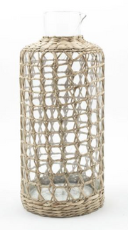 Seagrass Large Cage Carafe