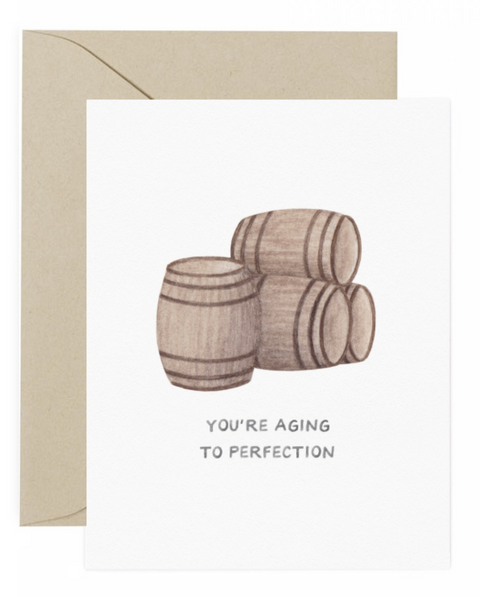 Aging to Perfection Card