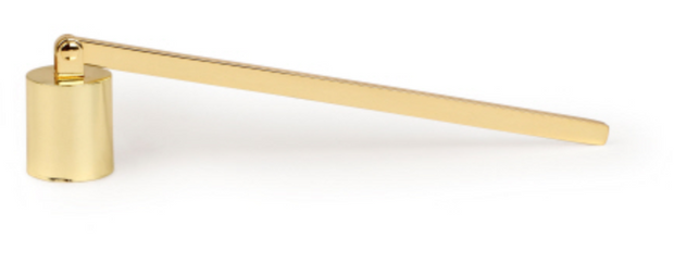 Candle Snuffer in Polished Brass