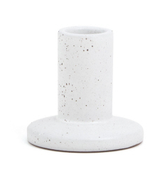 Ceramic Taper Candle Holder, Two Sizes
