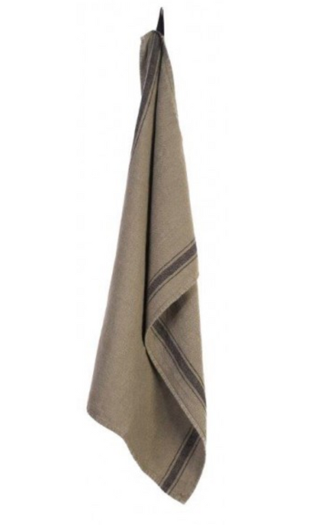 Washed Linen Dish Towels, Five Colors & Styles