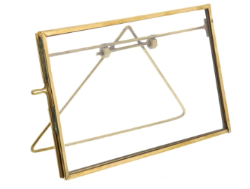 Brass Easel Photo Frame, Three Sizes
