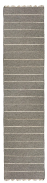 Light Grey Flat Weave Rug - Two Sizes