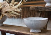 Textured Footed Bowl