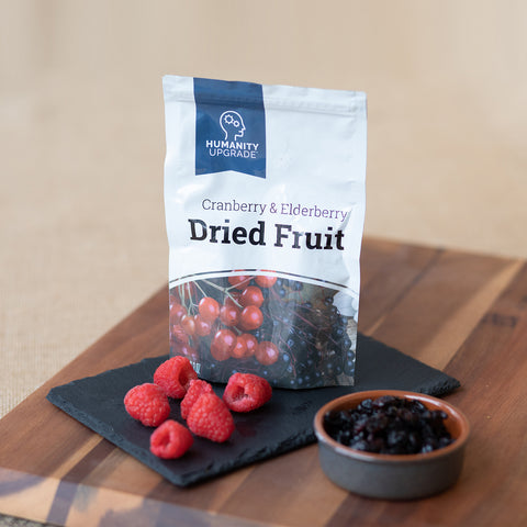 Cranberry and Elderberry Dried Fruit 3-Pack
