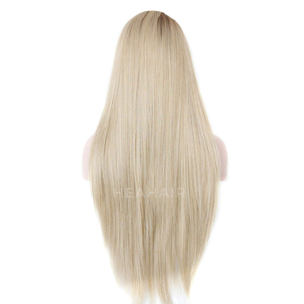 Ombre Blonde Synthetic Lace Front Wig HS0023