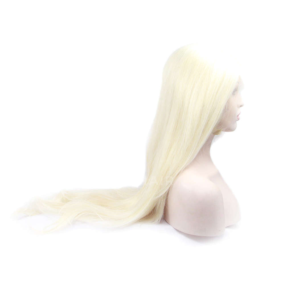 Blonde Synthetic Lace Front Wig HS2038