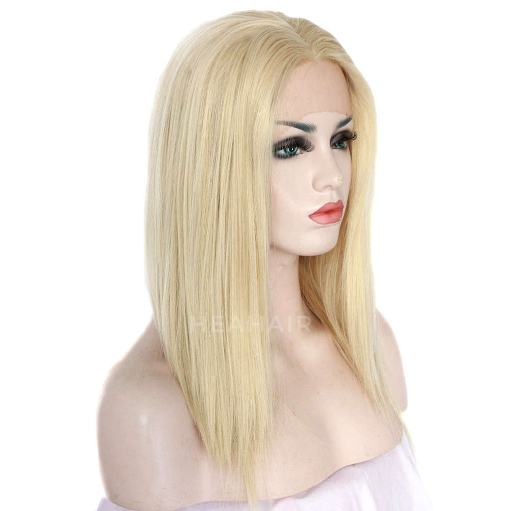 Blonde Bob Synthetic Lace Front Wig HS3014