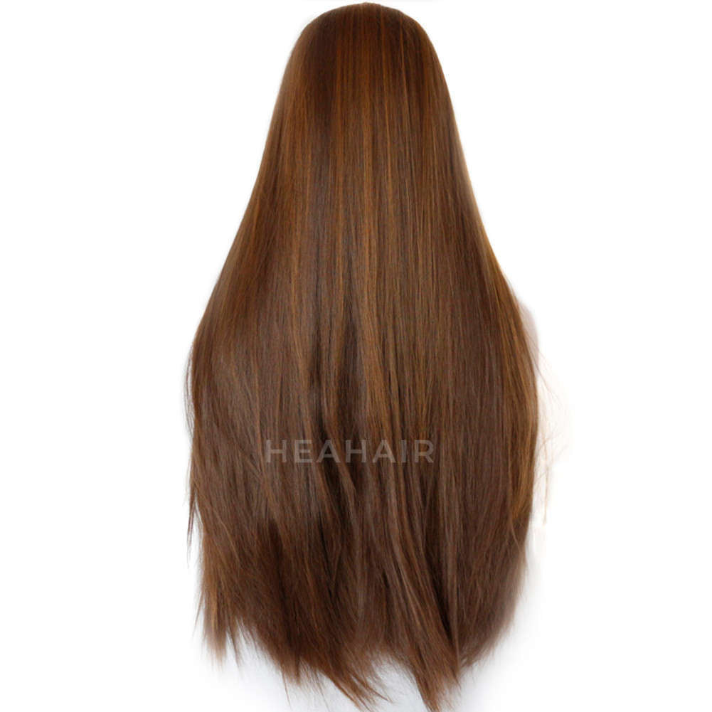 Brown Synthetic Lace Front Wig HS3028