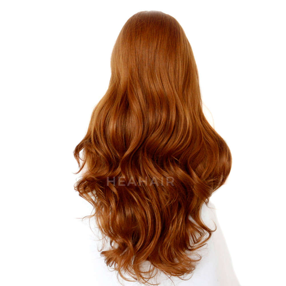 Brown Synthetic Lace Front Wig HS3030