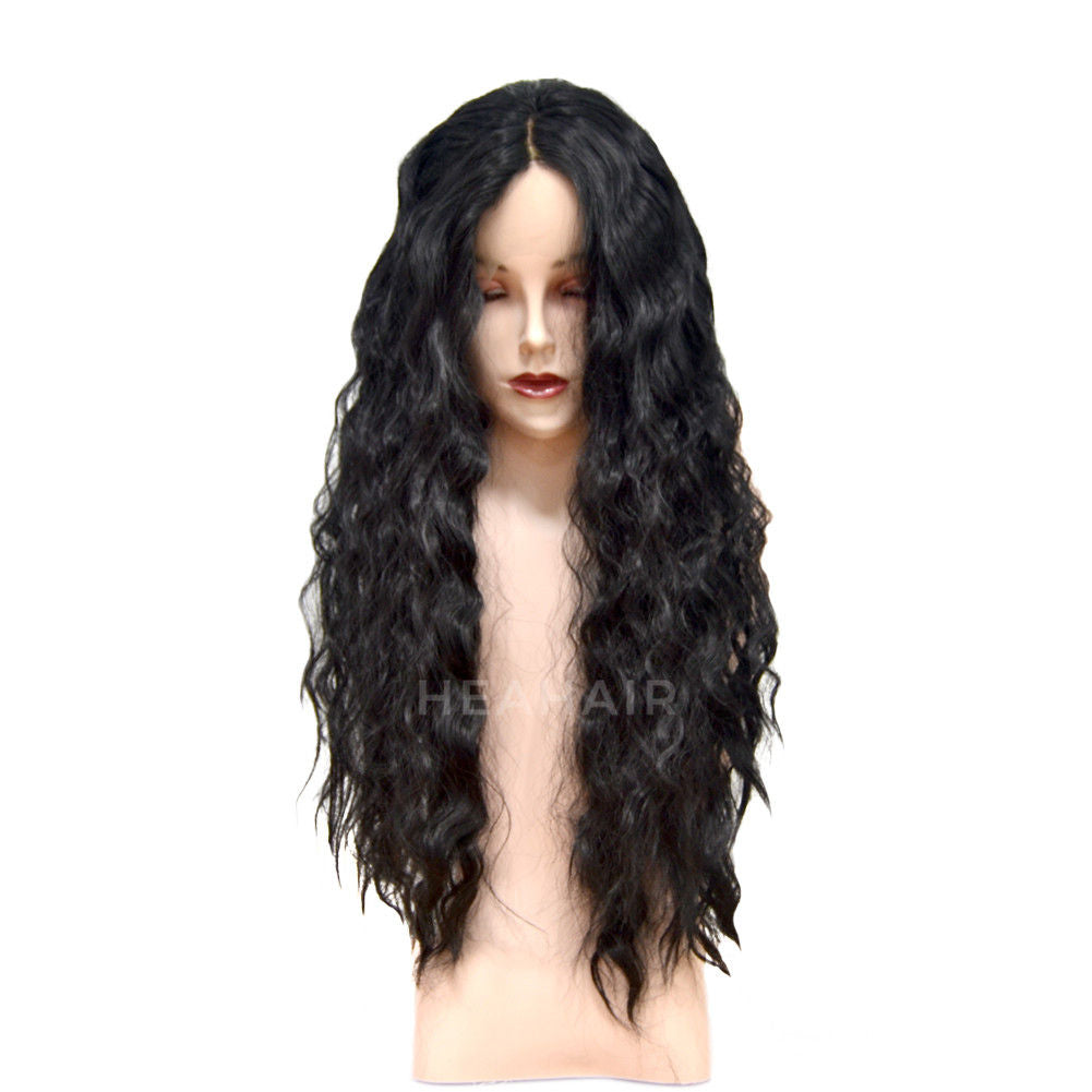 Loose Curly Synthetic Lace Front Wig HS6049
