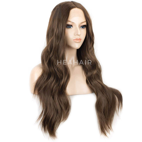 Brown Synthetic Lace Front Wigs HS6065