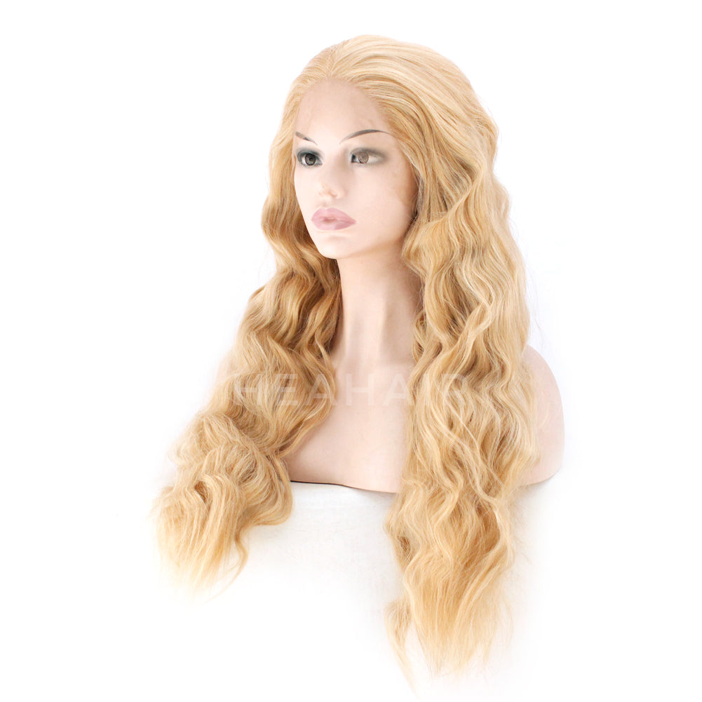 Blonde Synthetic Lace Front Wig HS6076