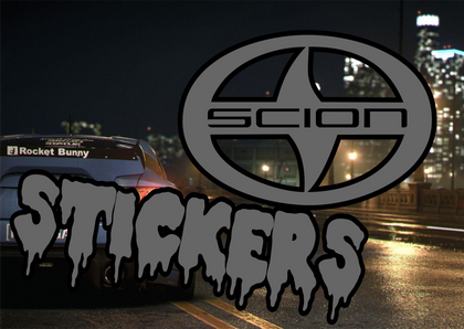 Scion Stickers