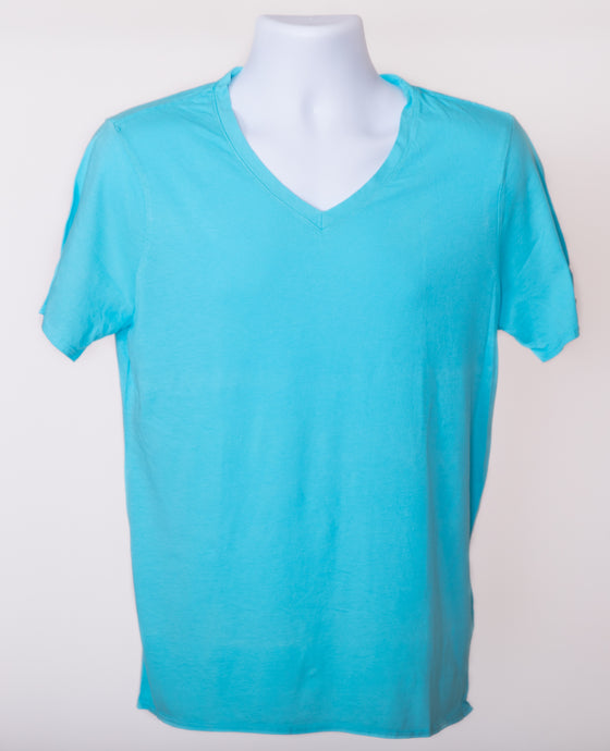 Premium V Neck T-Shirt made with pima cotton
