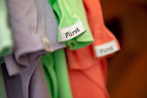 Furst Apparel. Premium T-Shirts. Pima Cotton