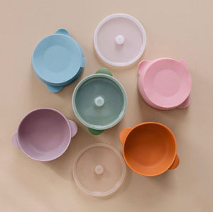 Baby Bar Silicone Bowl with Lid