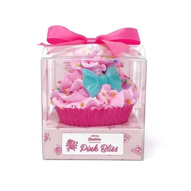 Large Pink Bliss Cupcake Bath Bomb
