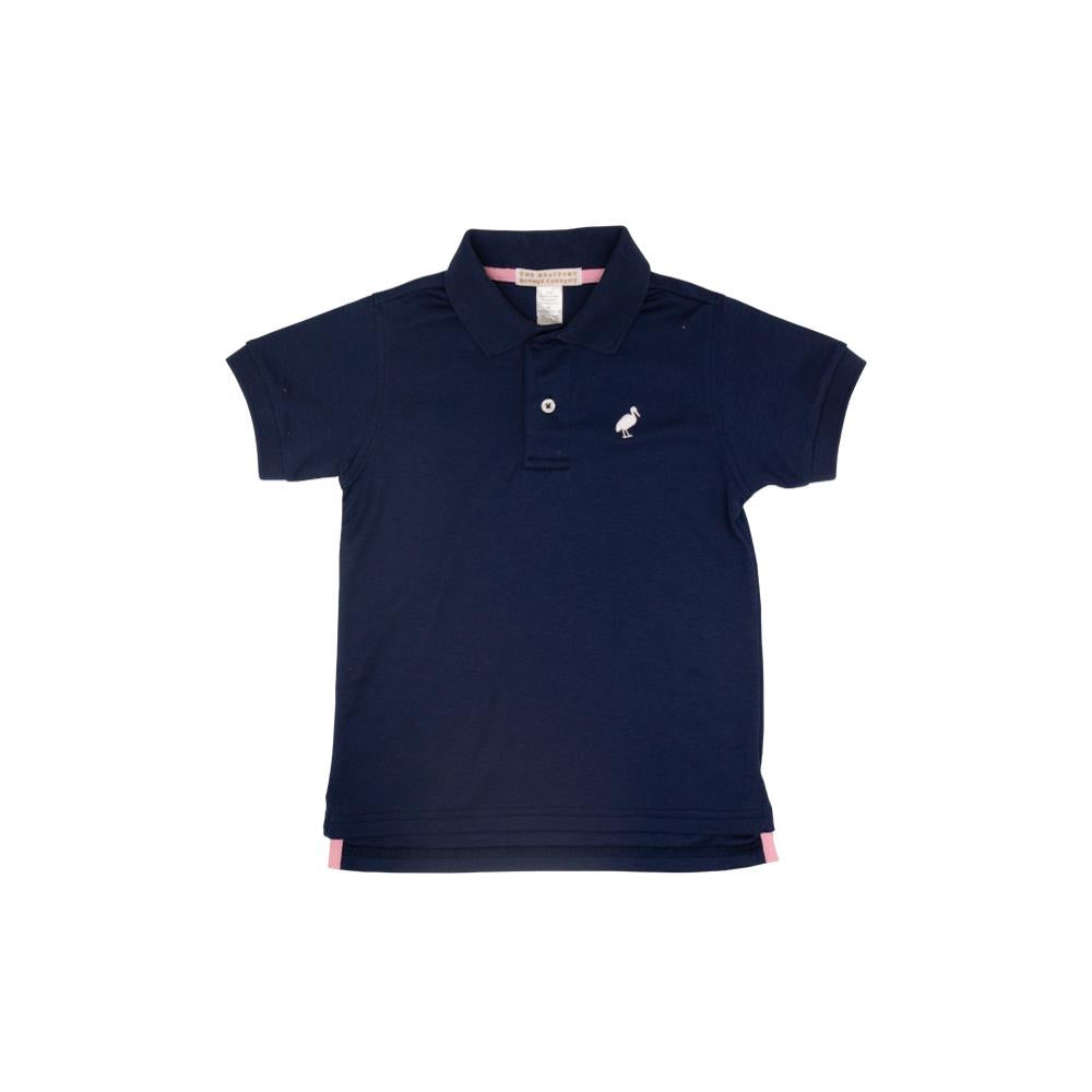 Prim and Proper Polo Nantucket Navy