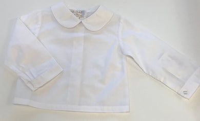 Boy Peter Pan Collar Shirt