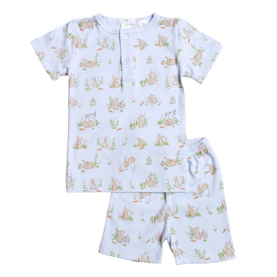 Blue Bunnies Pima two pieces loungewear