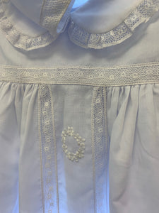 Christening Gown w/ wreath, 6m