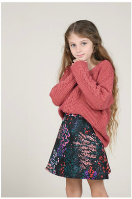 Vneck knitted Sweater