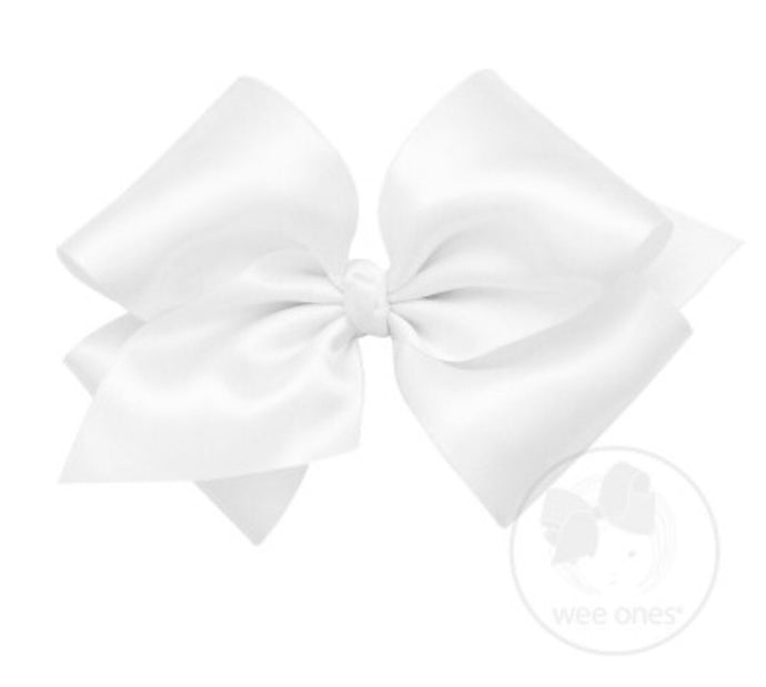 French Satin Bow