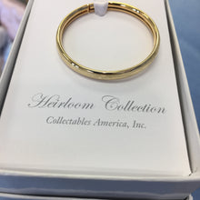 Gold Newborn Bangle