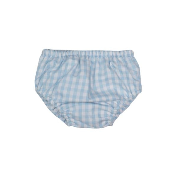 Beach Bum Cover Buckhead Blue Gingham