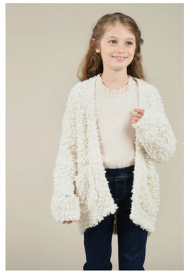 Soft Knit Cardigan Offwhite