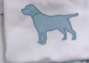 Custom Appliqué Dog Shirt