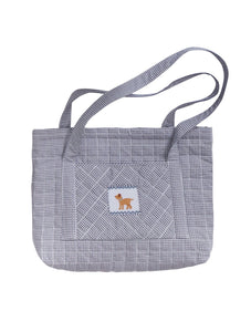Dog Quilted Luggage