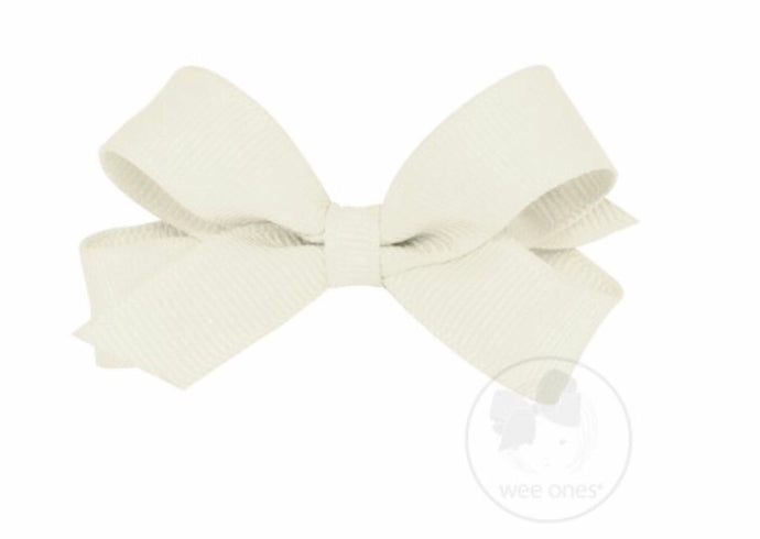 Tiny Grosgrain Bow