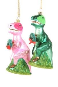 Merry T-Rex (green or pink)