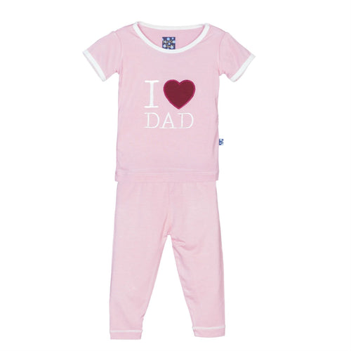 Lotus I LOVE DAD Pajama Set
