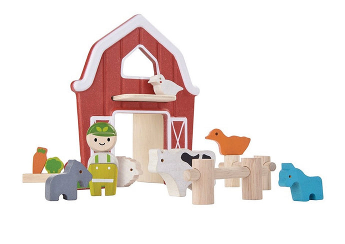 Farm Wooden Playset